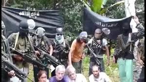 Abu Sayyaf and their hostages