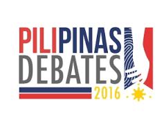 Third Presidential debates at University of Pangasinan
