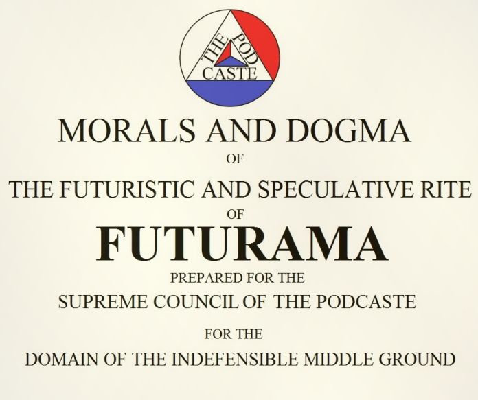 Futurama Freemasonry LOGO GOOD
